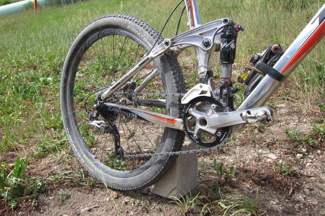 Амортизатор для велосипеда задний своими руками