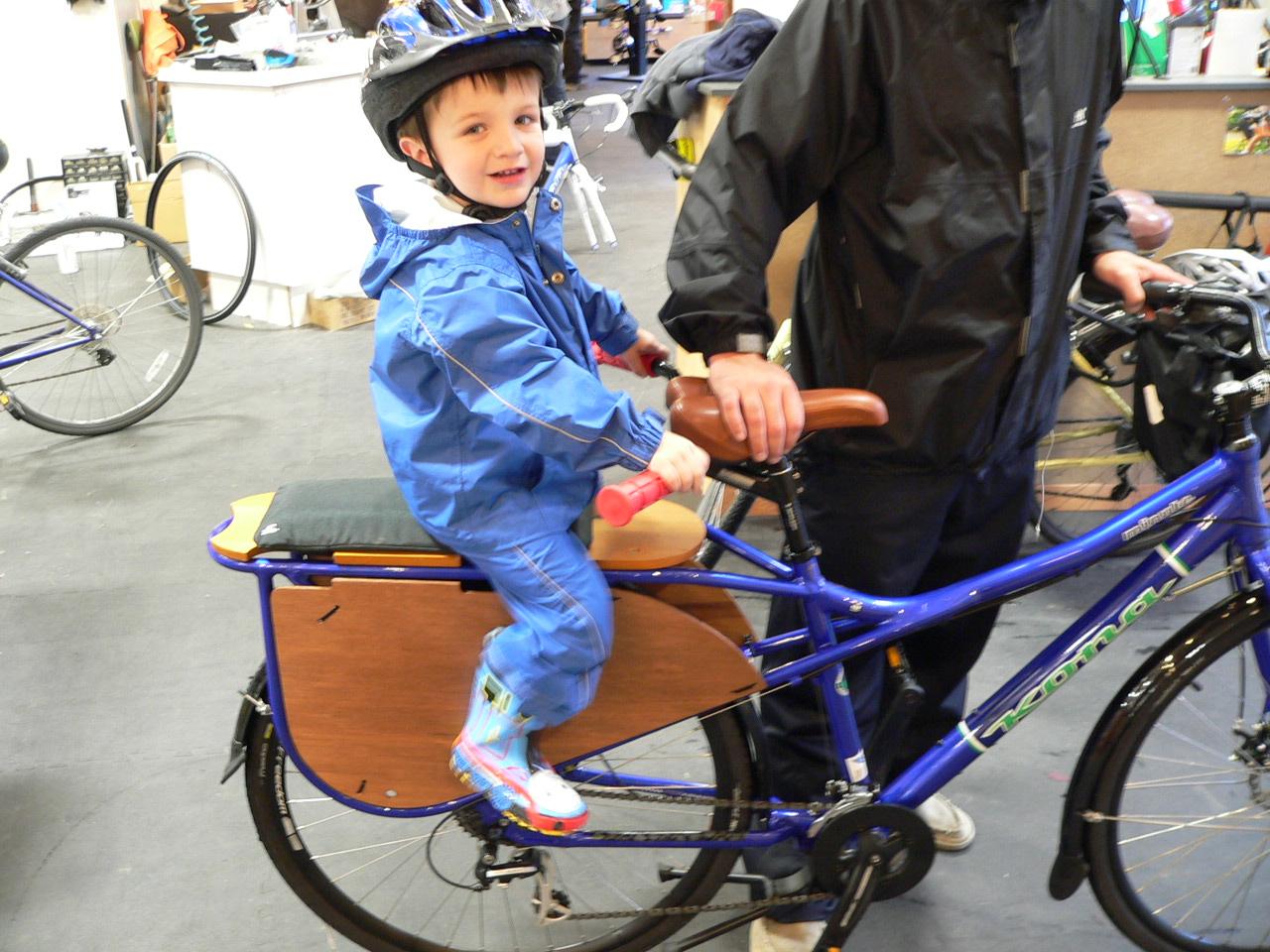 Велосипеды для перевозки детей своими руками 23